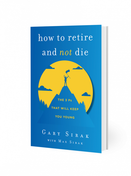 how to retire and not die book